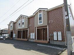新潟県新潟市北区西名目所の賃貸アパートの外観