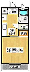 テック1[1階]の間取り