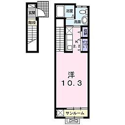 シルフィード八雲III[2階]の間取り