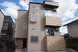 福岡県福津市福間南4丁目の賃貸アパートの外観