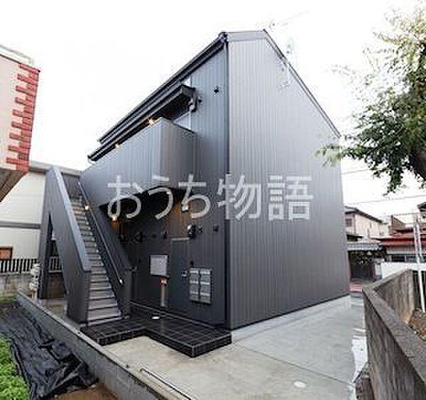 千葉県八千代市下市場2丁目の賃貸アパートの外観