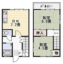 第3桜山ホームズ[A-102号室]の間取り