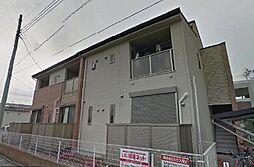 埼玉県越谷市七左町3丁目の賃貸アパートの外観