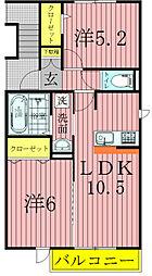 プロシード青葉台BC[2階]の間取り