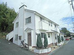 岡山県倉敷市松島の賃貸アパートの外観