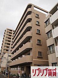 千葉県千葉市稲毛区弥生町の賃貸マンションの外観