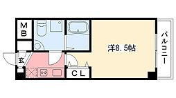 セレニテ甲子園[1-612号室]の間取り
