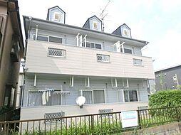 埼玉県さいたま市北区日進町3丁目の賃貸アパートの外観