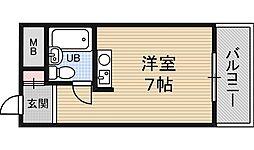 レバンガ新大阪イースト[6階]の間取り