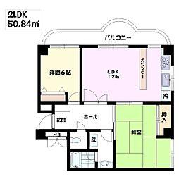 小川SNマンション[203号室]の間取り
