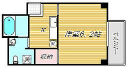東京都江東区亀戸1丁目の賃貸マンションの間取り