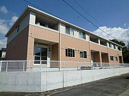 静岡県裾野市岩波の賃貸アパートの外観