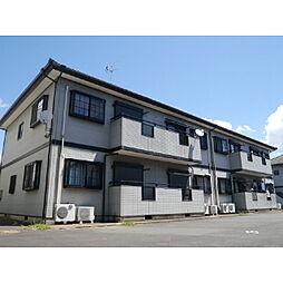 茨城県神栖市木崎の賃貸アパートの外観