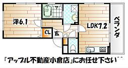 イーハ・トーブS・K[2階]の間取り
