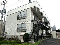 第二シャトー武田[1階]の外観