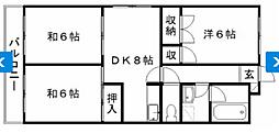 YS島田[5階]の間取り