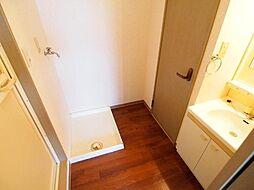 グランシャリオ96の室内洗濯機置き場