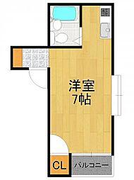 ロアール武庫之荘[2階]の間取り