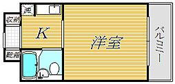 東陽ビルディング[8階]の間取り