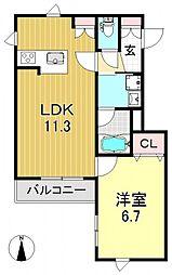 ライトパフォーム[1階]の間取り
