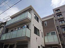 東京都江東区常盤1丁目の賃貸アパートの外観