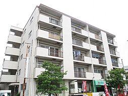 埼玉県新座市栗原5丁目の賃貸マンションの外観