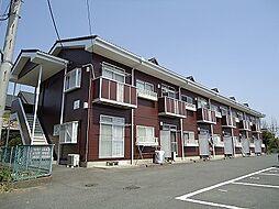 群馬県前橋市稲荷新田町の賃貸アパートの外観