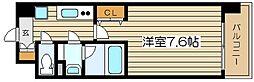 レジュールアッシュJUSO[2階]の間取り