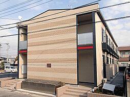 埼玉県さいたま市岩槻区東岩槻5丁目の賃貸アパートの外観