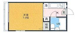 シャルマンドミール霞ヶ関[2階]の間取り