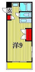 東京都江東区大島4丁目の賃貸マンションの間取り