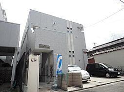 愛知県名古屋市中川区乗越町1丁目の賃貸アパートの外観