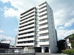 滋賀県草津市東矢倉2の賃貸マンションの外観
