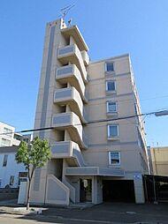 北海道札幌市北区北二十一条西7丁目の賃貸マンションの外観