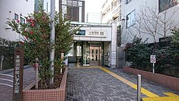 駅本蓮沼駅まで1037m
