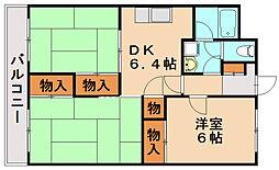 タイラコーポ[2階]の間取り