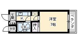 土井グランドマンション[1階]の間取り