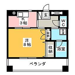 TNマンションII[2階]の間取り