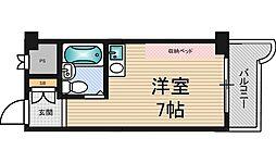 ライオンズマンション新大阪第5[2階]の間取り