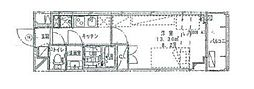 リライア東武練馬[5階]の間取り
