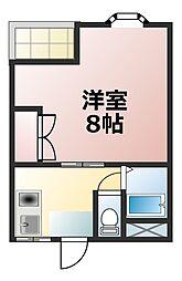 Taro淡路[2階]の間取り