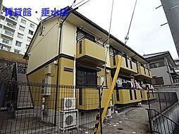 兵庫県神戸市垂水区上高丸1丁目の賃貸アパートの外観