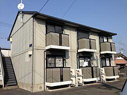 茨城県水戸市河和田1丁目の賃貸アパートの外観