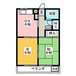 栄サンハイツ[3階]の間取り