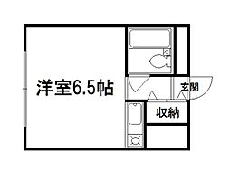 セ・モア京都[7階]の間取り