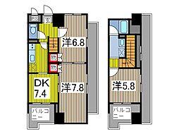 SKコートIII[9階]の間取り