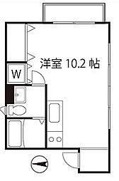 シェスタカメオ2015  bt[301kk号室]の間取り