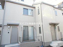 岡山県倉敷市船倉町の賃貸アパートの外観