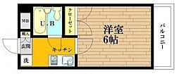 神奈川県川崎市多摩区西生田2の賃貸マンションの間取り