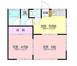 恩山荘[1階]の間取り